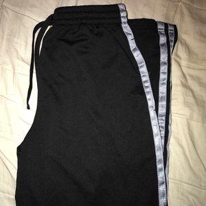 Black Athletic Track Pants
